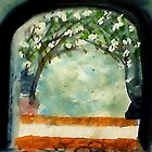 The Arch of love #1, watercolor by Anna  Lewis
