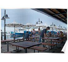 Fishing Boot Harbour Fremantle Poster