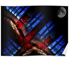 Greenwich Observatory Moon Room Poster