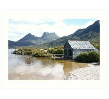 Hut at Cradle Mountain Tasmania Art Print