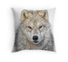 The Staredown Throw Pillow