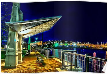 Date Night- Piers Park,East Boston by LudaNayvelt