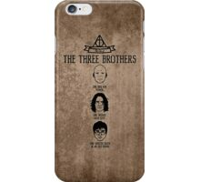 The Tale of the Three Brothers (Harry Potter) - variant iPhone Case/Skin