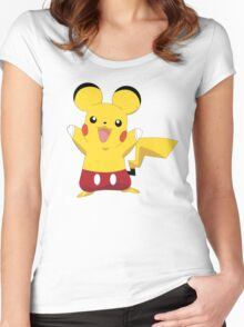 Mickeychu Women's Fitted Scoop T-Shirt