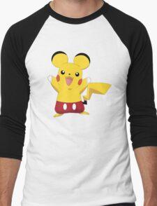Mickeychu Men's Baseball ¾ T-Shirt