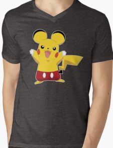 Mickeychu Mens V-Neck T-Shirt