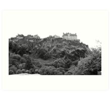 Castle on the hill. Art Print