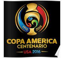 Conmebol Fifa Copa America Centenario, Usa 2016 Poster