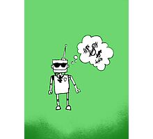 Robots love bling Photographic Print