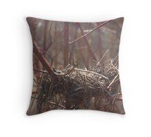 nestled Throw Pillow