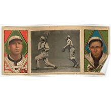 Benjamin K Edwards Collection Robert Groom Dolly Gray Washington Nationals baseball card portrait Poster
