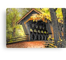 Wisconsin Covered Bridge Canvas Print