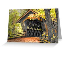 Wisconsin Covered Bridge Greeting Card