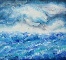 ocean scape by Chip Pique