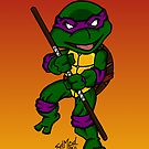 Donatello Teenage Mutant Ninja Turtles by EdMedArt