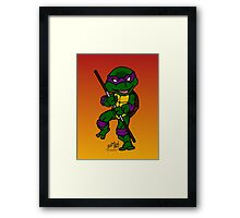 Donatello Teenage Mutant Ninja Turtles Framed Print