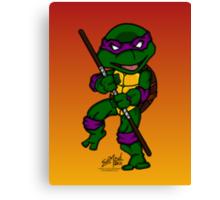Donatello Teenage Mutant Ninja Turtles Canvas Print