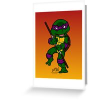 Donatello Teenage Mutant Ninja Turtles Greeting Card