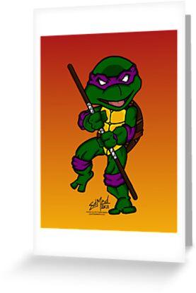 Donatello Teenage Mutant Ninja Turtles by EdMedArt