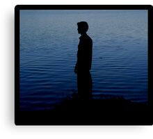 Contented Canvas Print