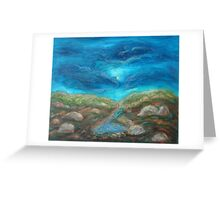 night scape Greeting Card