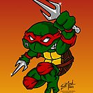 Raphael Teenage Mutant Ninja Turtle by EdMedArt
