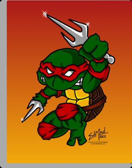 Raphael Teenage Mutant Ninja Turtle by EdMedArt