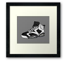 Shoes Oreo (Kicks) Framed Print