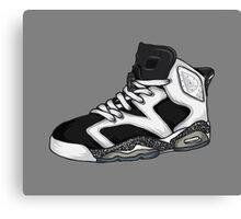 Shoes Oreo (Kicks) Canvas Print