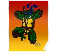 Leonardo Teenage Mutant Ninja Turtles Poster
