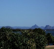 Glass House Mountains by Jacqui Everson