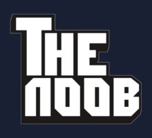 Funny NOOB Godfather Design Kids Tee