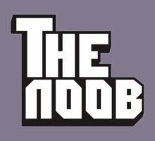 Funny NOOB Godfather Design Kids Tee