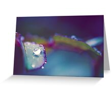 Perfect Droplet Greeting Card