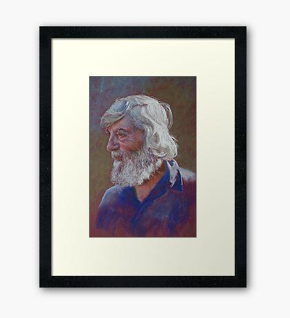 Portrait of Doug Dale Framed Print