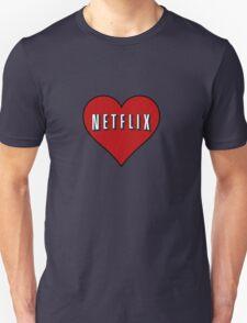 Netflix heart Unisex T-Shirt