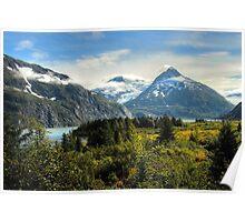 Portage Glacier Area - Alaska Poster