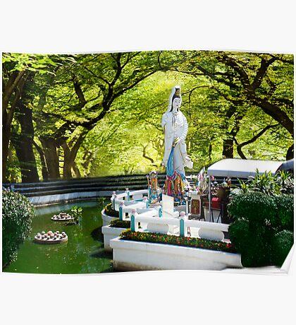 ✿⊱╮  ✿⊱╮Pattaya Thailand Garden Place of  Worship ✿⊱╮  ✿⊱╮ Poster