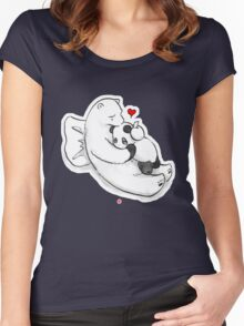 Top Up! Women's Fitted Scoop T-Shirt