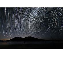 """Swirls"" ∞ Lake Somerset, QLD - Australia Photographic Print"