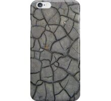 Dried Cracks in the Mud 1 - iCase iPhone Case/Skin