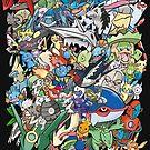 Gen III - Pokemaniacal Colour by Alex Clark