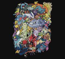 Gen II - Pokemaniacal Colour Kids Clothes