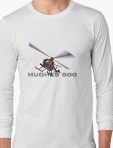 "Hughes 500 ""Little Bird"" Long Sleeve T-Shirt"