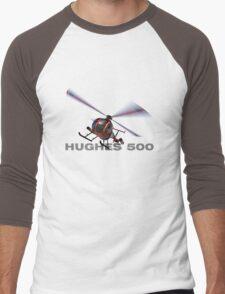 """Hughes 500 """"Little Bird"""" Men's Baseball ¾ T-Shirt"""