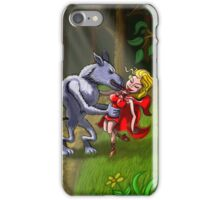 Wolf Kissing Red Riding Hood iPhone Case/Skin