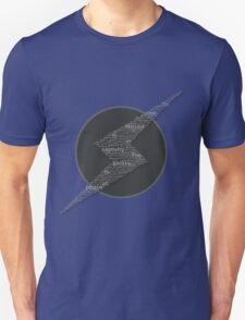 The Galaxy is at Peace (Black and White) T-Shirt