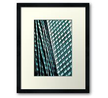 Urban Blues.... Framed Print