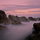 Canyon of the Sea Mist by bazcelt