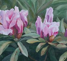 Blossoming Trio by Jan Lawnikanis